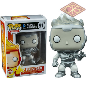 Funko Pop! Heroes - Dc Super Firestorm (White Lantern) (91) Figurines