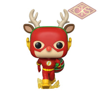 Funko POP! Heroes - DC Super Heroes - The Flash (Holiday Dash) (356)