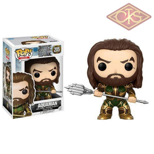 Funko Pop! Heroes - Justice League Aquaman (Armored) (205) Figurines
