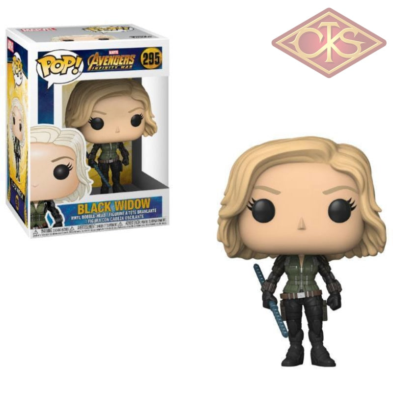 Funko Pop! Marvel - Avengers:  Infinity War Black Widow (295) Figurines