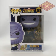 Funko Pop! Marvel - Avengers:  Infinity War Thanos (289) Damaged Packaging Figurines
