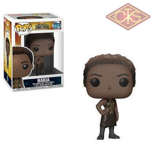 Funko Pop! Marvel - Black Panther Nakia (277) Figurines