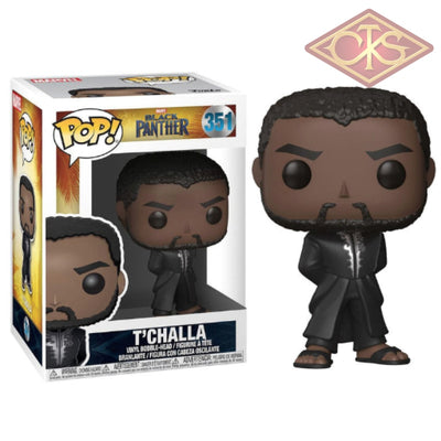 Funko Pop! Marvel - Black Panther Tchalla (Black Robe) (351) Figurines