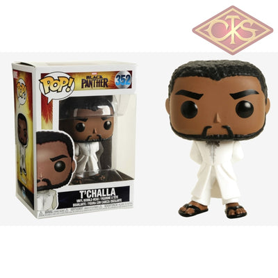 Funko Pop! Marvel - Black Panther Tchalla (White Robe) (352) Figurines