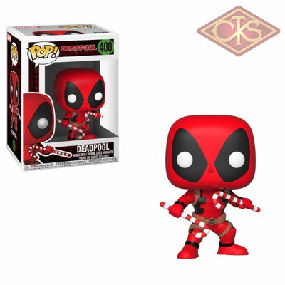 Funko Pop! Marvel - Deadpool (Candy Canes) (400) Figurines