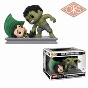 Funko Pop! Marvel - Movie Moments Hulk Smashing Loki (362) Exclusive Figurines