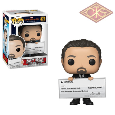 Funko Pop! Marvel - Spider-Man Far From Home Happy Hogan (472) Figurines
