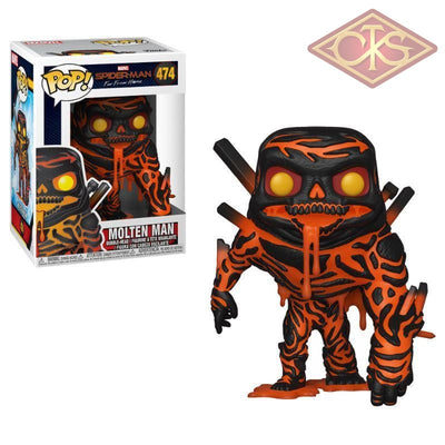 Funko Pop! Marvel - Spider-Man Far From Home Molten Man (474) Figurines