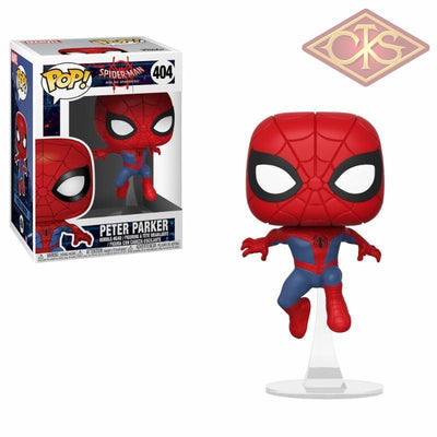 Funko Pop! Marvel - Spider-Man:  Into The Spiderverse Peter Parker (404) Figurines