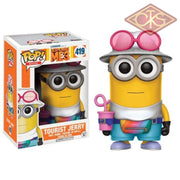 Funko POP! Movies - Despicable Me 3 - Vinyl Figure Tourist Jerry (419)