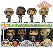 Funko Pop! Movies - Ghostbusters Abby Yates / Patty Tolan Erin Gilbert Jillian Holtzmann (4Pack)