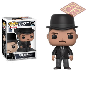 Funko Pop! Movies - James Bond (007) Oddjob (From Goldfinger) (520) Figurines