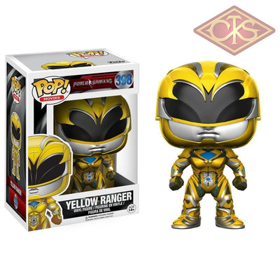Funko POP! Movies - Power Rangers - Vinyl Figure Yellow Ranger (398)