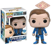 Funko Pop! Movies - Star Trek Beyond Captain Kirk (Survival Suit) (354) Figurines