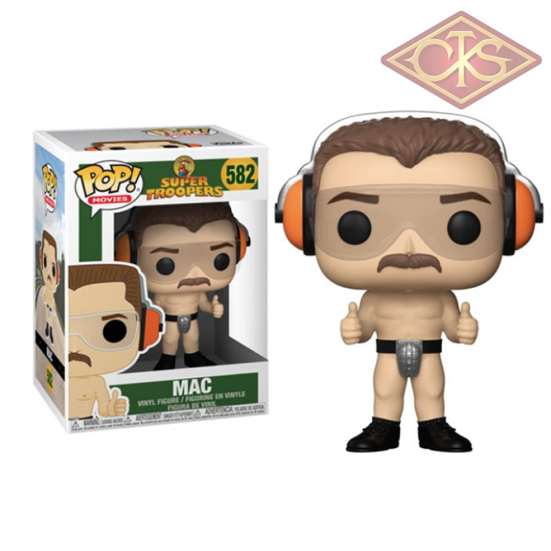 Funko Pop! Movies - Super Troopers Mac (582) Figurines