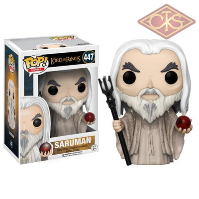 Funko Pop! Movies - The Lord Of The Rings Saruman (447) Figurines