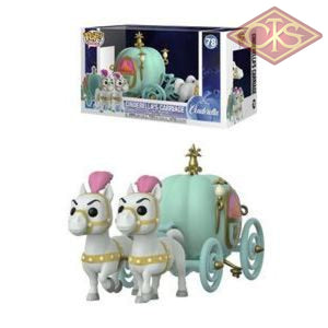 Funko Pop! Rides - Disney Cinderella Cinderellas Carriage (78) Figurines