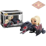 Funko Pop! Rides - Game Of Thrones Daenerys & Drogon (15) Figurines