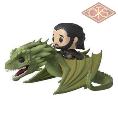 Funko Pop! Rides - Game Of Thrones Jon Snow & Rhaegal (67) Figurines