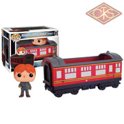 Funko Pop! Rides - Harry Potter Hogwarts Express Carriage With Ron Weasley (21) Figurines
