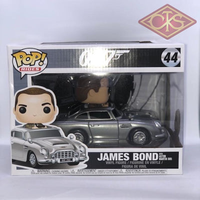 Funko Pop! Rides - James Bond Sean Connery With Aston Martin Db5 (44) Damaged Packaging Figurines