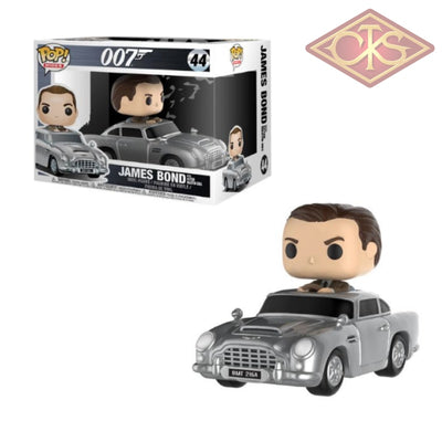 Funko Pop! Rides - James Bond Sean Connery With Aston Martin Db5 (44) Figurines