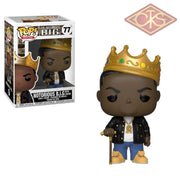 Funko Pop! Rocks - The Notorious B.i.g. With Crown (77) Figurines