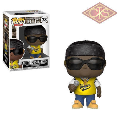 Funko Pop! Rocks - The Notorious B.i.g. With Jersey (78) Figurines