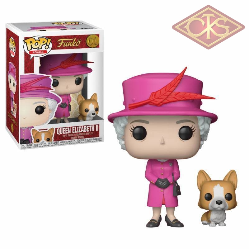 Funko Pop! Royals - Royal Family Queen Elizabeth Ii (01) Figurines