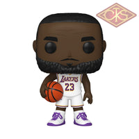 Funko Pop! Sports - Basketball Nba Los Angeles Lakers Lebron James (White) (90) Figurines