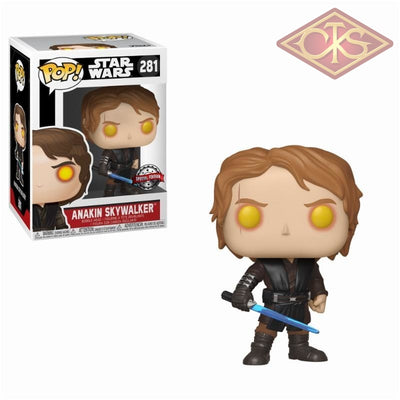 Funko Pop! Star Wars - Anakin Skywalker (Dark Side) (281) Exclusive Figurines