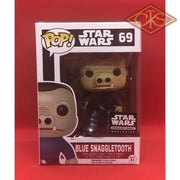 Funko POP! Star Wars - Blue Snaggletooth (69) Exclusive DAMAGED PACKAGING