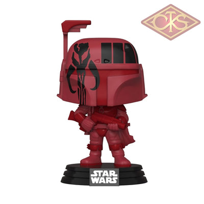 Funko POP! Star Wars - Boba Fett (Futura Red) (297) Exclusive (+ hard protector)