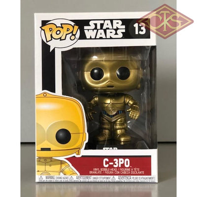Funko Pop! Star Wars - C-3Po (13) Figurines