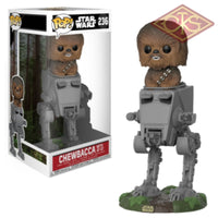 Funko Pop! Star Wars - Chewbacca With At-St (236) Figurines