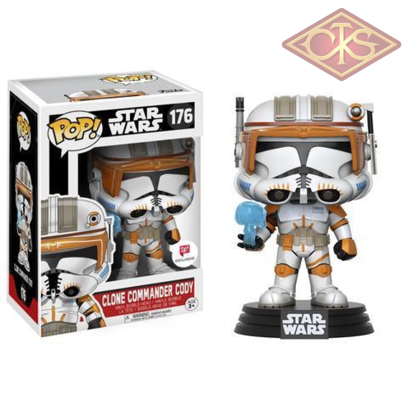 Funko Pop! Star Wars - Clone Commander Cody (176) Exclusive Figurines