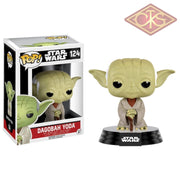 Funko Pop! Star Wars - Dagobah Yoda (124) Figurines