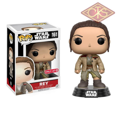 Funko Pop! Star Wars - Episode Vii Rey In Finns Jacket (161) Figurines