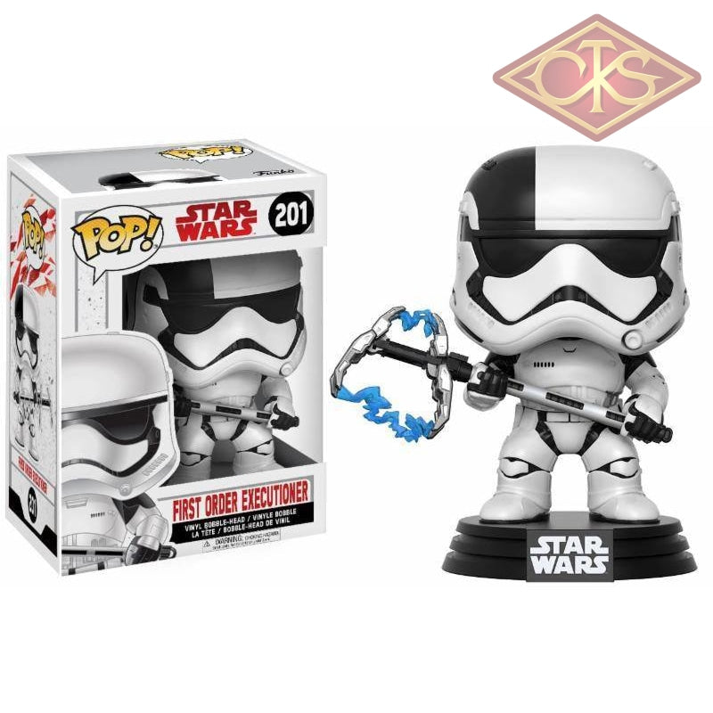 Funko Pop! Star Wars - Episode Viii First Order Executioner (201) Figurines