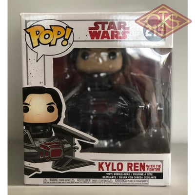 Funko Pop! Star Wars - Episode Viii Kylo Ren With Tie Fighter (215) Damaged Packaging Figurines
