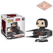 Funko Pop! Star Wars - Episode Viii Kylo Ren With Tie Fighter (215) Figurines
