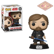 Funko Pop! Star Wars - Episode Viii Luke Skywalker (Final Battle) (266) Figurines
