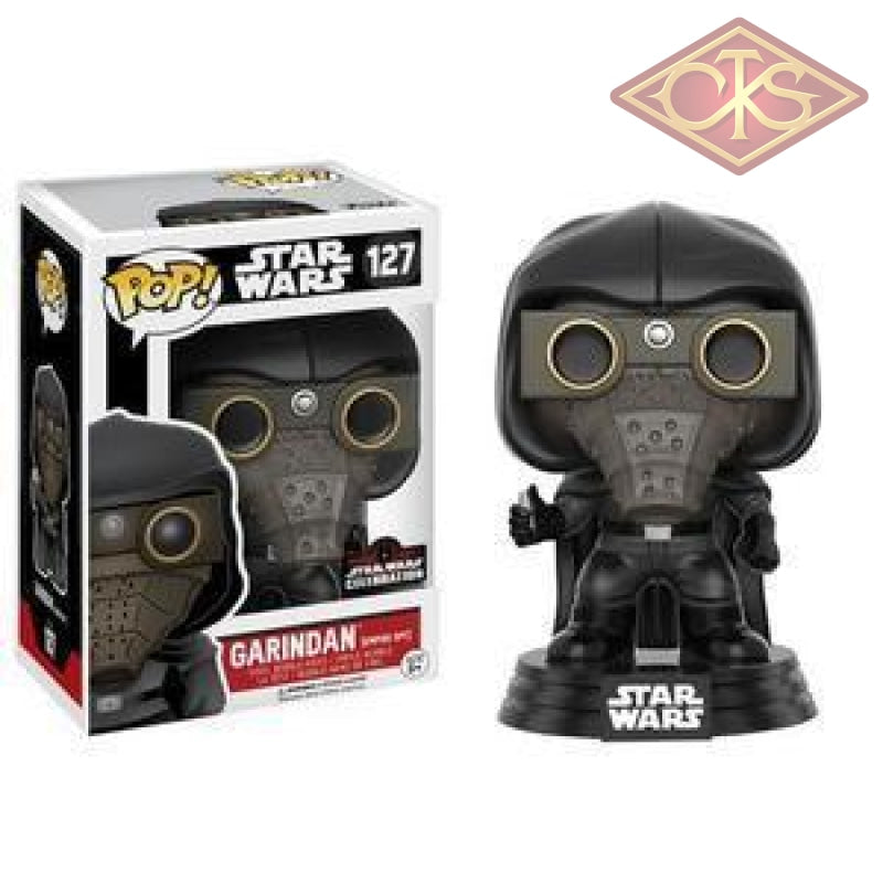 Funko Pop! Star Wars - Garindan (Empire Spy) (127) Exclusive Figurines