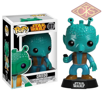Funko Pop! Star Wars - Greedo (07) Figurines