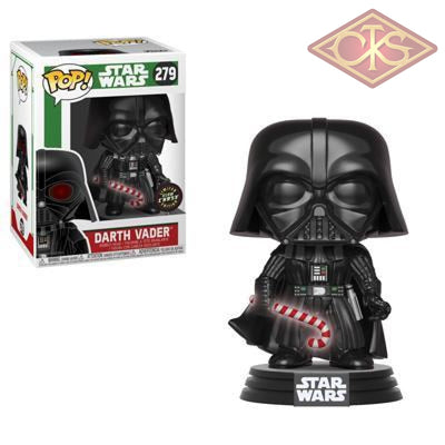 Funko Pop! Star Wars - Holiday Darth Vader (279) Chase Figurines