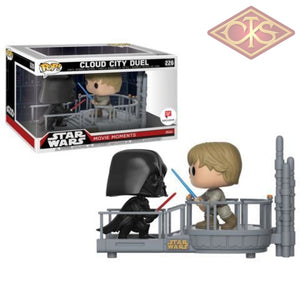 Funko Pop! Star Wars - Movie Moments Cloud City Duel (226) Exclusive Figurines