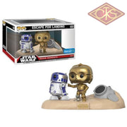 Funko Pop! Star Wars - Movie Moments Escape Pod Landing (222) Exclusive Figurines