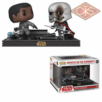 Funko Pop! Star Wars - Movie Moments Rematch On The Supremacy (257) Figurines