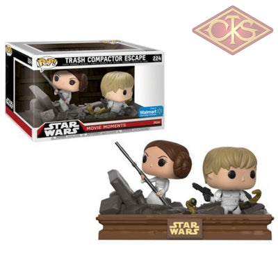 Funko Pop! Star Wars - Movie Moments Trash Compactor Escape (224) Exclusive Figurines
