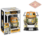 Funko Pop! Star Wars - Rebels Chopper (133) Figurines